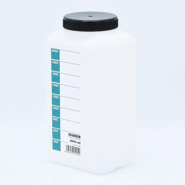 Kaiser Bouteille de stockage de Produits Chimiques (Blanc) - 2000ml