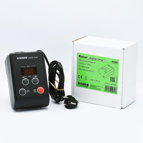 Kaiser Digital Timer - Electronic Exposure Timer for Enlargers