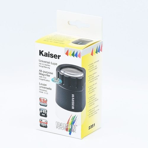 Kaiser All-Purpose Magnifier 4.5x