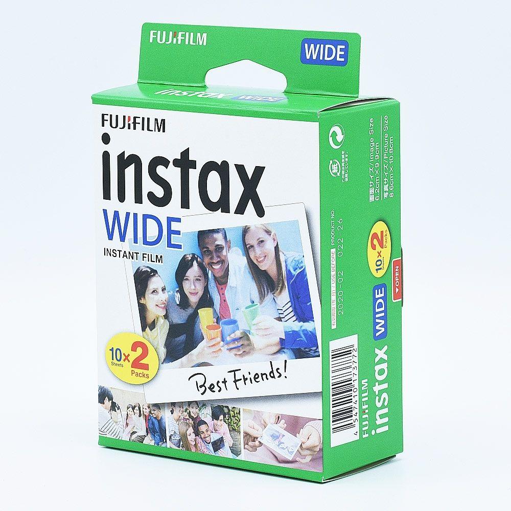 Fujifilm Instax Wide Film Instantanée / (2x10)