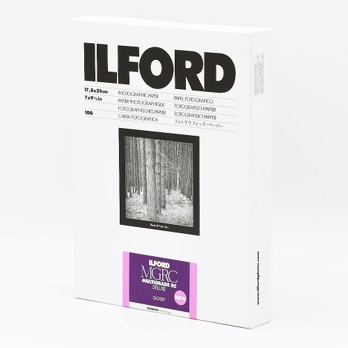 Ilford Photo 17,8x24 cm - GLOSSY - 100 SHEETS - Multigrade V RC Deluxe HAR1179897