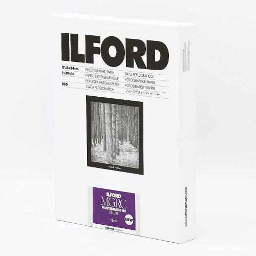 Ilford Photo 17,8x24 cm - PEARL - 100 SHEETS - Multigrade V RC Deluxe HAR1180233