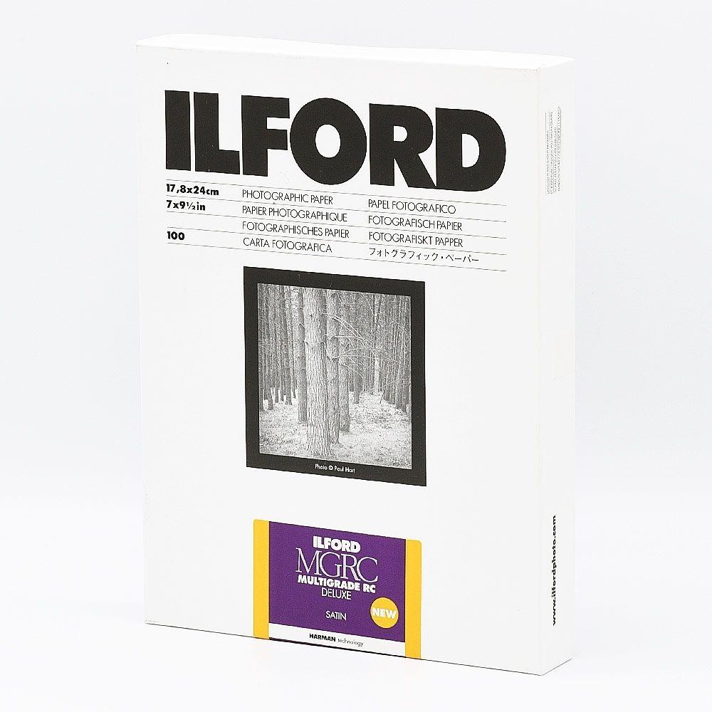Ilford Photo 24x30,5 cm - SATIN - 10 SHEETS - Multigrade V RC Deluxe HAR1180530