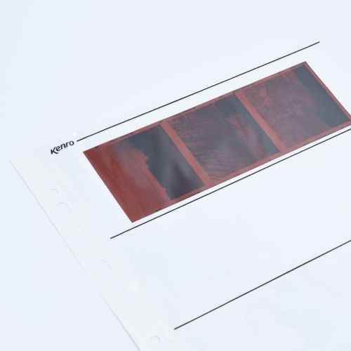 Kenro Negative Storage Pages 120 Film - Clear - 100 pcs