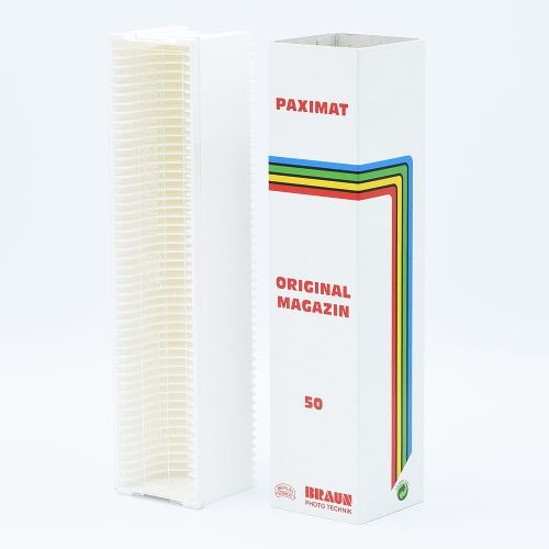 Braun Paximat 50 Diamagazijn - Wit