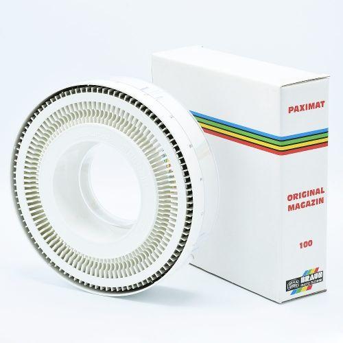 Braun Paximat 100 Circulair Slide Magazine - White