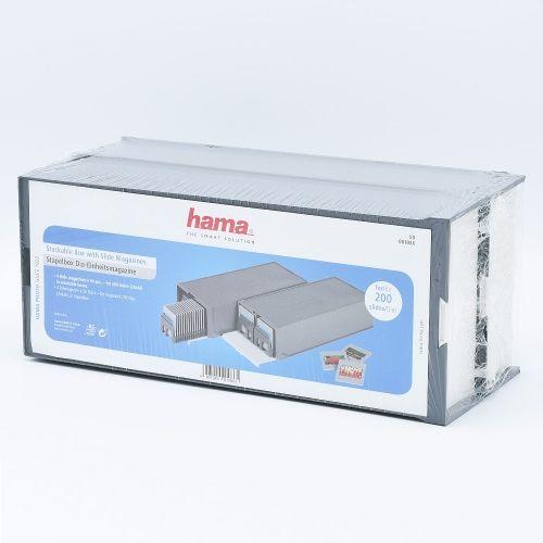 Hama Boîte de Rangement Empilable avec Magazines de Diapositives pour 100 diapositives - 2 pièces