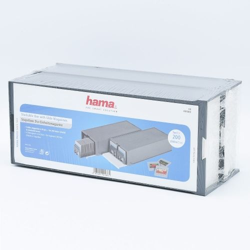 Hama Stackable Storage Box with Slide Magazines for 100 Slides - 2 pieces