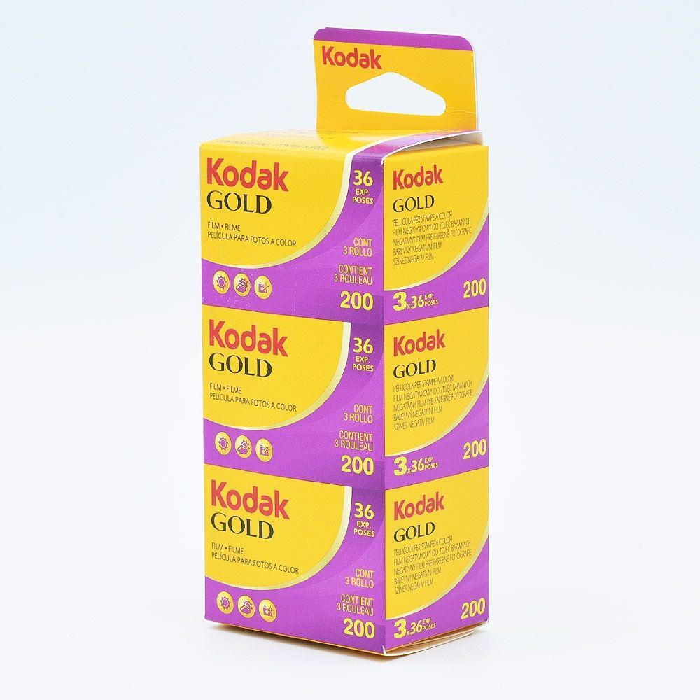 Kodak GOLD 200 135-36 / 3-pak
