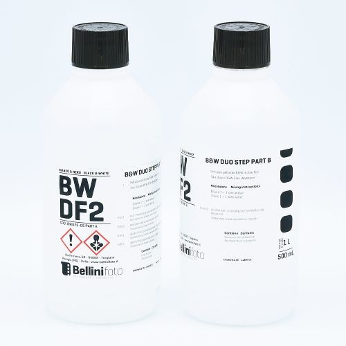 Bellini Duo Step (Liquid Diafine) Filmontwikkelaar - Part A (500ml) + Part B (500ml)