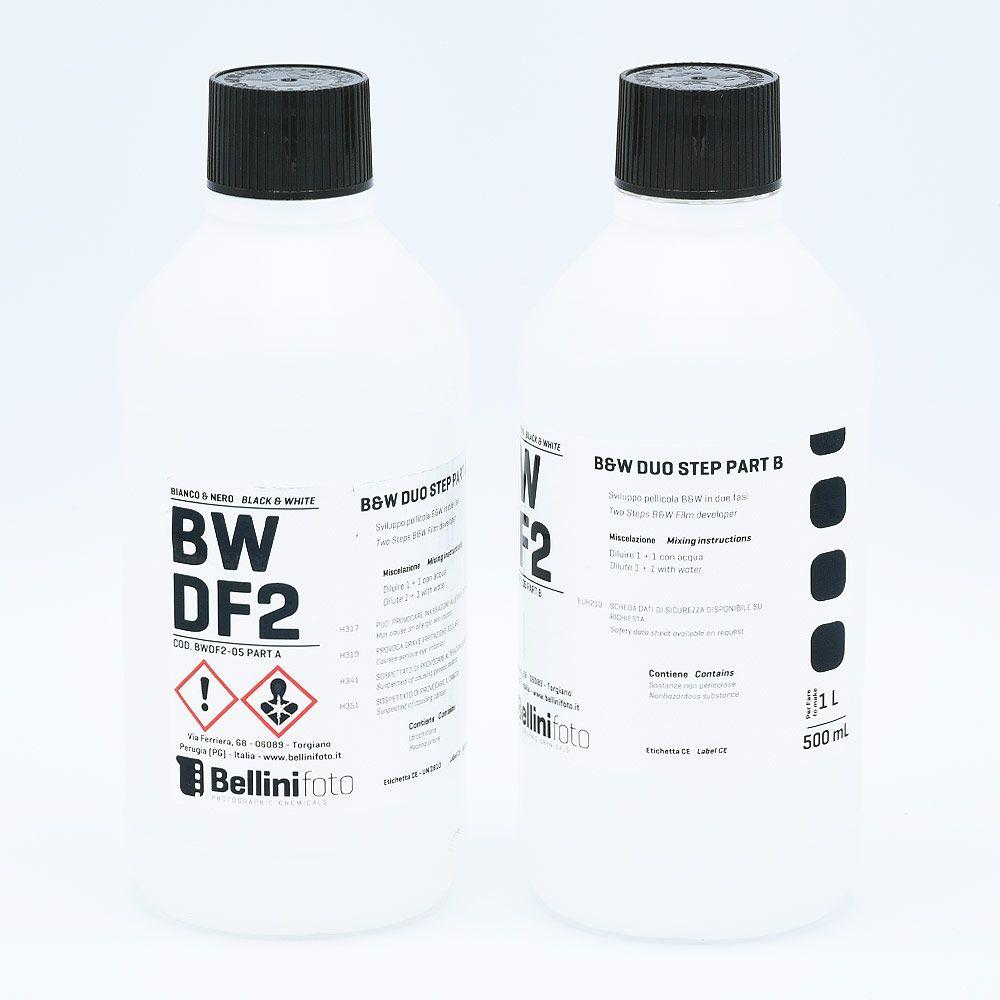 Bellini Duo Step (Liquid Diafine) Filmontwikkelaar - Part A (500ml) + Part B (500ml)