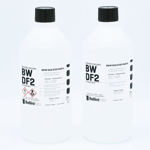 Bellini Duo Step (Liquid Diafine) Filmontwikkelaar - Part A (1L) + Part B (1L)