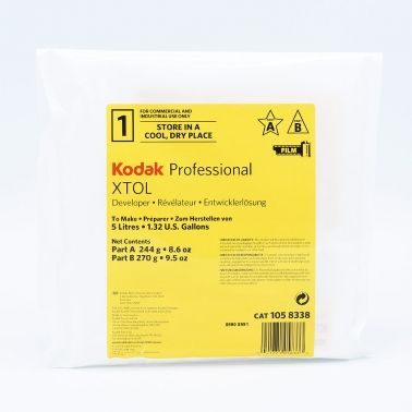 Kodak XTOL Filmontwikkelaar - 5L (Part A + Part B)
