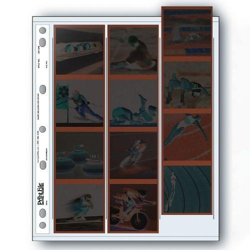 Print File Negative Storage Pages 120 Film 3x6x6cm - Polyethylene - 100 pcs