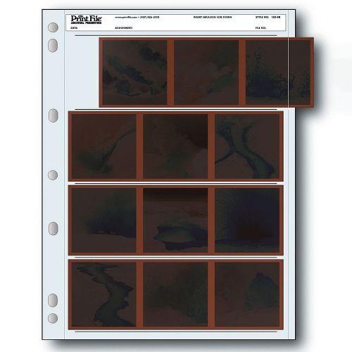 Print File Negatiefbladen 120 Film 4x6x9cm - Polyethyleen - 25 stuks