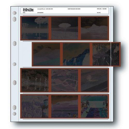 Print File Negatiefbladen 120 Film 4x6x7cm - Polyethyleen - 100 stuks