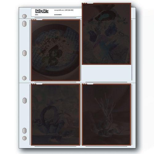 "Print File Negatiefbladen 4x5"" Sheet Film - Polyethyleen - 25 stuks"