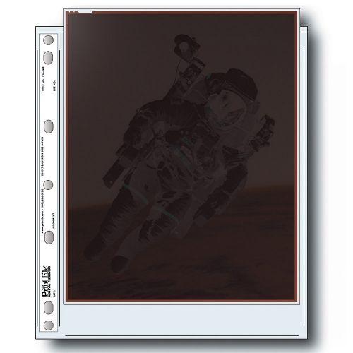 """Print File Negative Storage Pages Sheet Film 8x10"""" - Polyethylene - 100 pcs"""