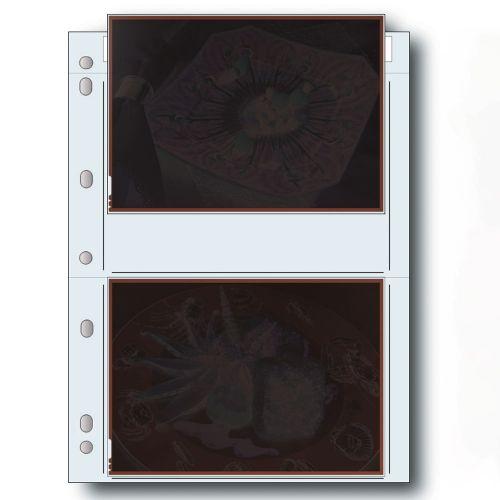 """Print File Negative Storage Pages Sheet Film 5x7"""" - Polyethylene - 100 pcs"""