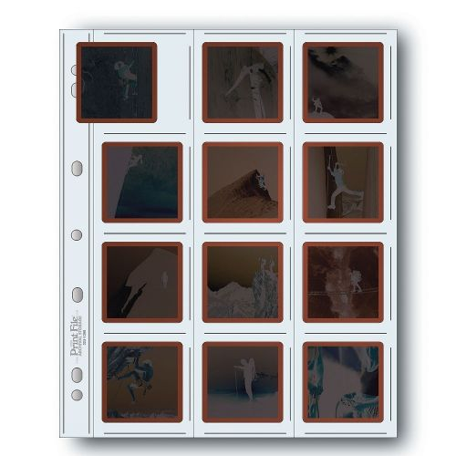 Print File Diabladen 120 Film 12x6x6cm - Polyethyleen - 10 stuks