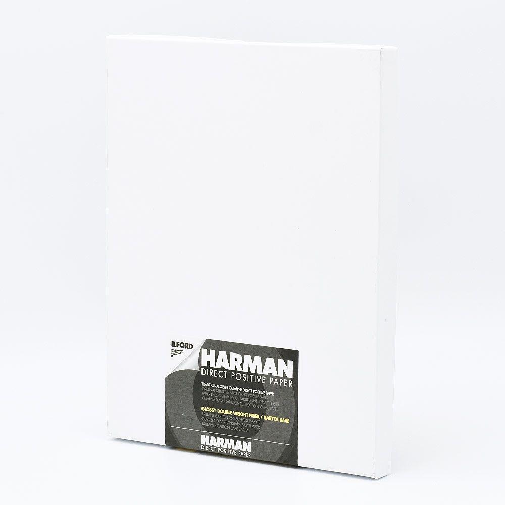 Ilford Photo 20,3x25,4 cm (8x10 INCH) - BRILLANT - 25 FEUILLES - Harman Direct Positive FB HAR1171170