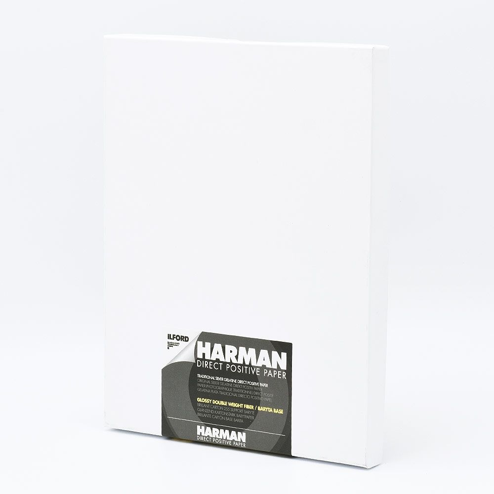 Ilford Photo 20,3x25,4 cm (8x10 INCH) - GLOSSY - 25 SHEETS - Harman Direct Positive FB HAR1171170
