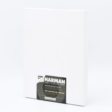Ilford Photo 20,3x25,4 cm (8x10 INCH) - GLANZEND - 25 VELLEN - Harman Direct Positive FB HAR1171170
