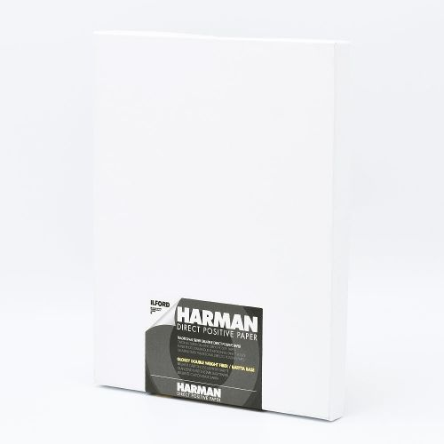Ilford Photo 9,96x12,7 cm (4x5 INCH) - GLOSSY - 25 SHEETS - Harman Direct Positive FB HAR1171158