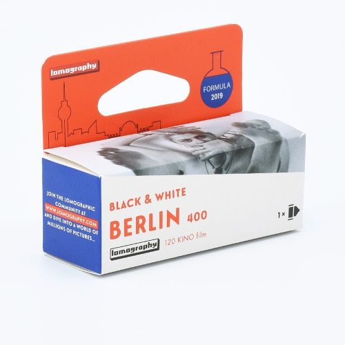 Lomography Berlin Kino B&W 400 120