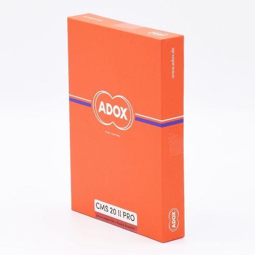 Adox CMS 20 II 4x5 INCH / 25 sheets