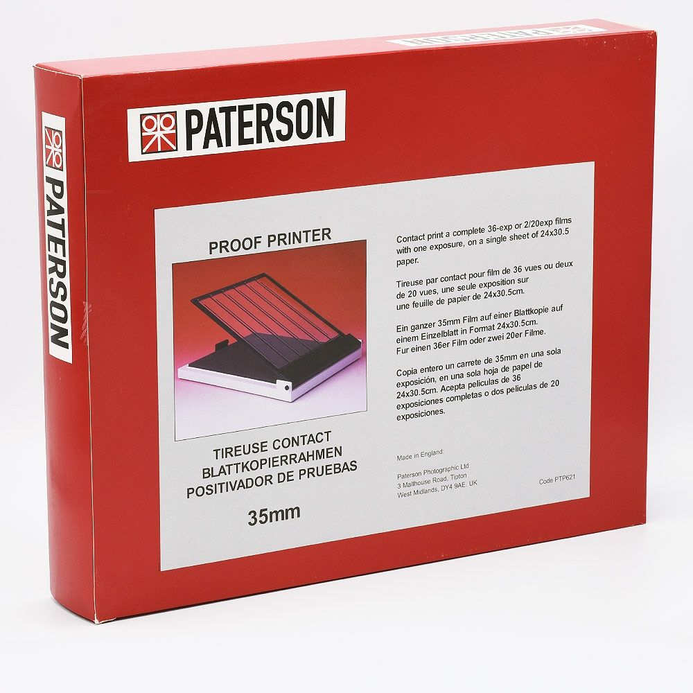 Paterson Contact Proof Printer 35mm Film - 24x30 cm (9.5x12 inch)