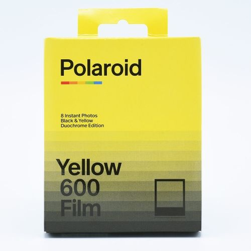 Polaroid 600 Black & Yellow Duochrome Instant Film