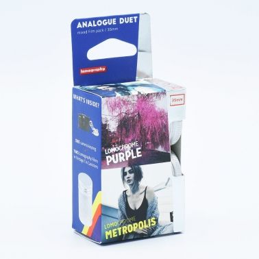 Lomo Analogue Duet - LomoChrome Purple-Metropolis 35mm Film / 2-pak