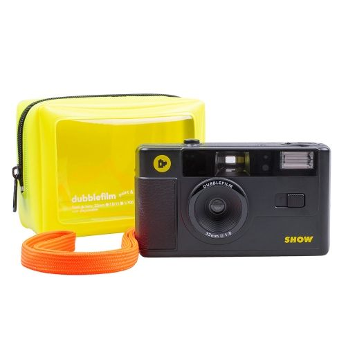 Dubblefilm SHOW 35mm Camera (Herbruikbaar) - Zwart