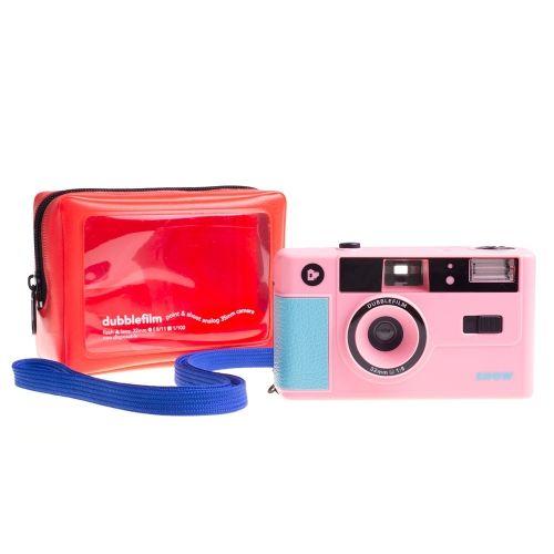 Dubblefilm SHOW Appareil Photo 35mm (Réutilisable) - Rose
