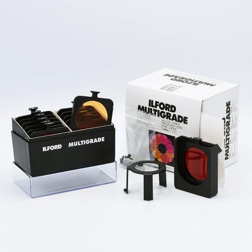 Ilford Kit de Filtres Multigrade Sous Objectif avec Porte-filtre