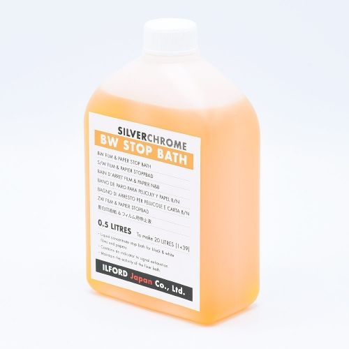 Silverchrome BW Bain d'Arrêt avec Indicateur - 500ml