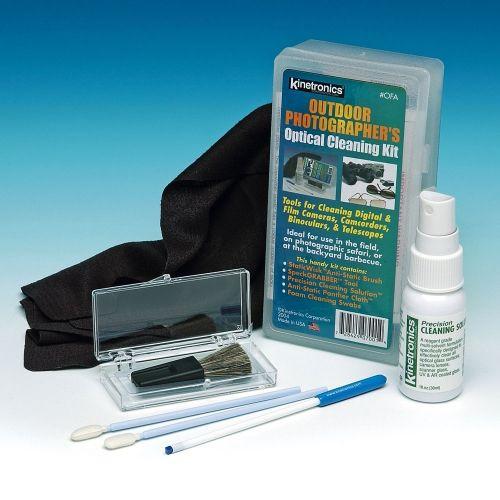 Kinetronics Outdoor Kit de Nettoyage pour Verre Optique