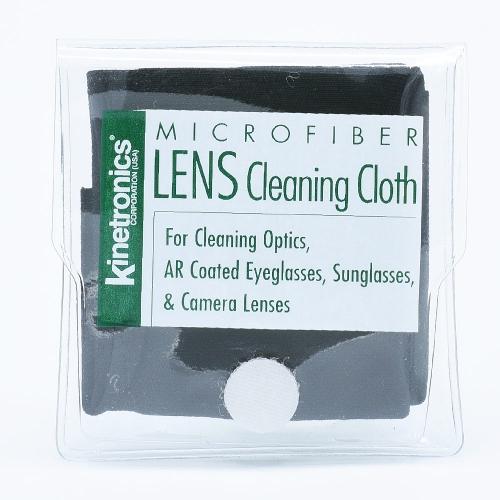 Kinetronics Panther Chiffon de Nettoyage Antistatique en Microfibres / Noir - 20x20cm
