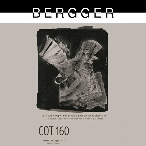 Bergger 27,9x35,5 cm - 25 SHEETS - BERGGER COT 160 COT160-111425