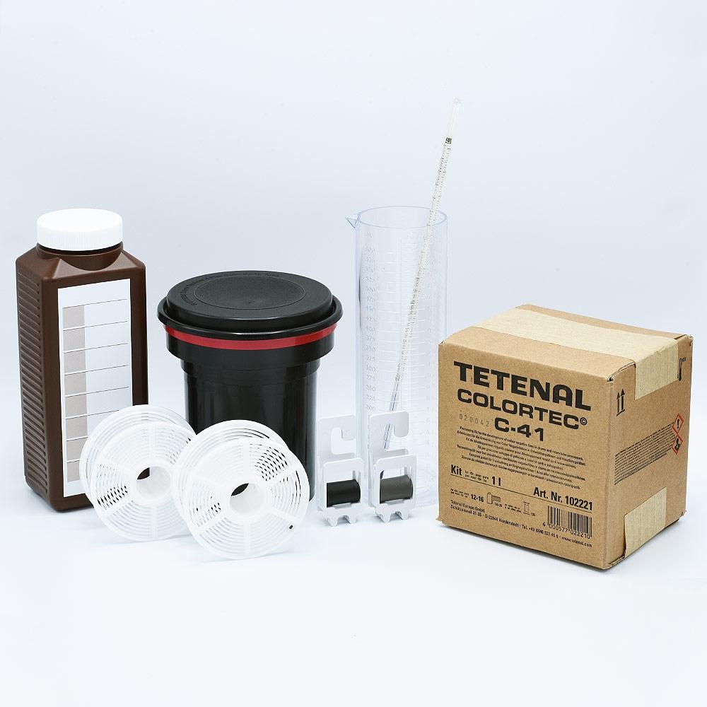 Starter Kit for Color Film Developing - Tetenal / 1L