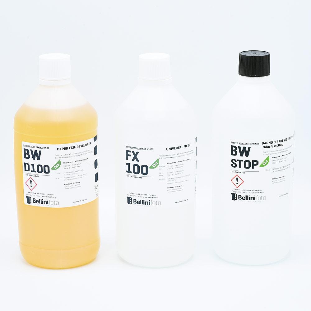 Bellini Eco Starter Kit voor Zwart-wit Papierontwikkeling (Neutraal) - 1L