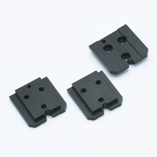 Aluminium Shoe Mount Set pour KEKS EM-01 Posemètre - Noir
