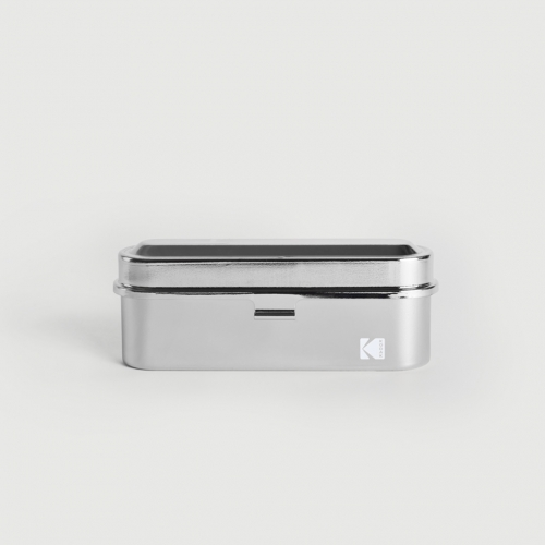 Kodak Radiant 35mm Film Case - Argent