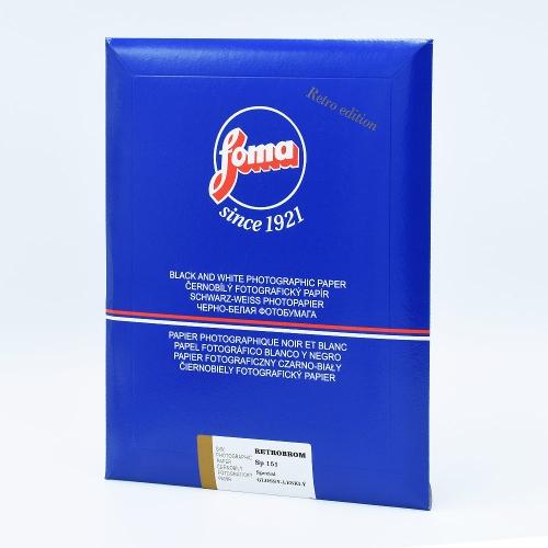 Foma 20,3x25,4 cm - GLANZEND - 25 VELLEN - RETROBROM SP 151