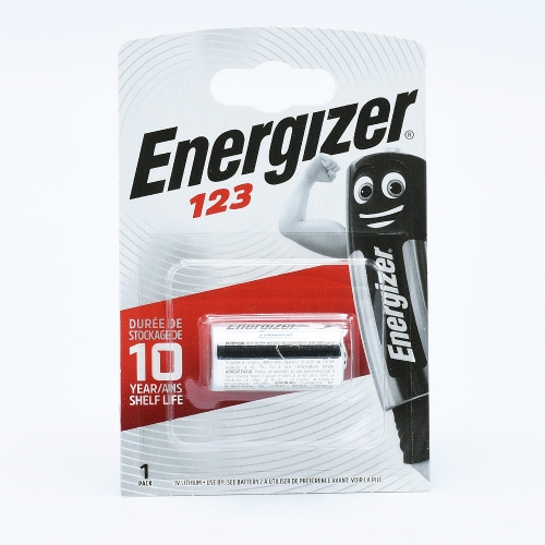 Energizer 123 Batterie Lithium (3V)