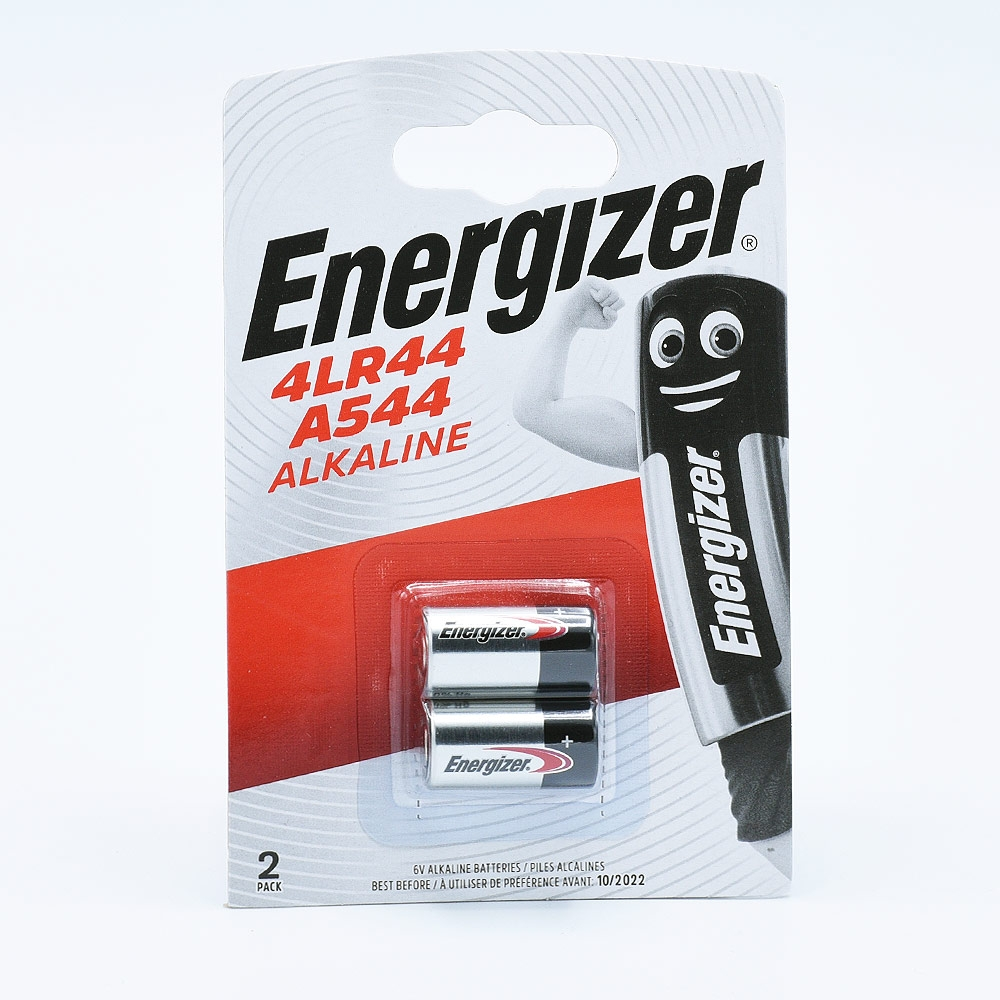 Energizer PX28/4LR44/A544 Alkaline Battery (6V) - 2 pcs