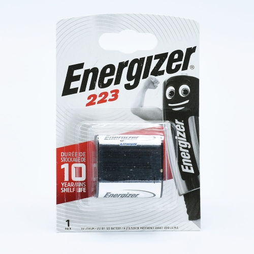 Energizer 223 Lithium Battery (6V)
