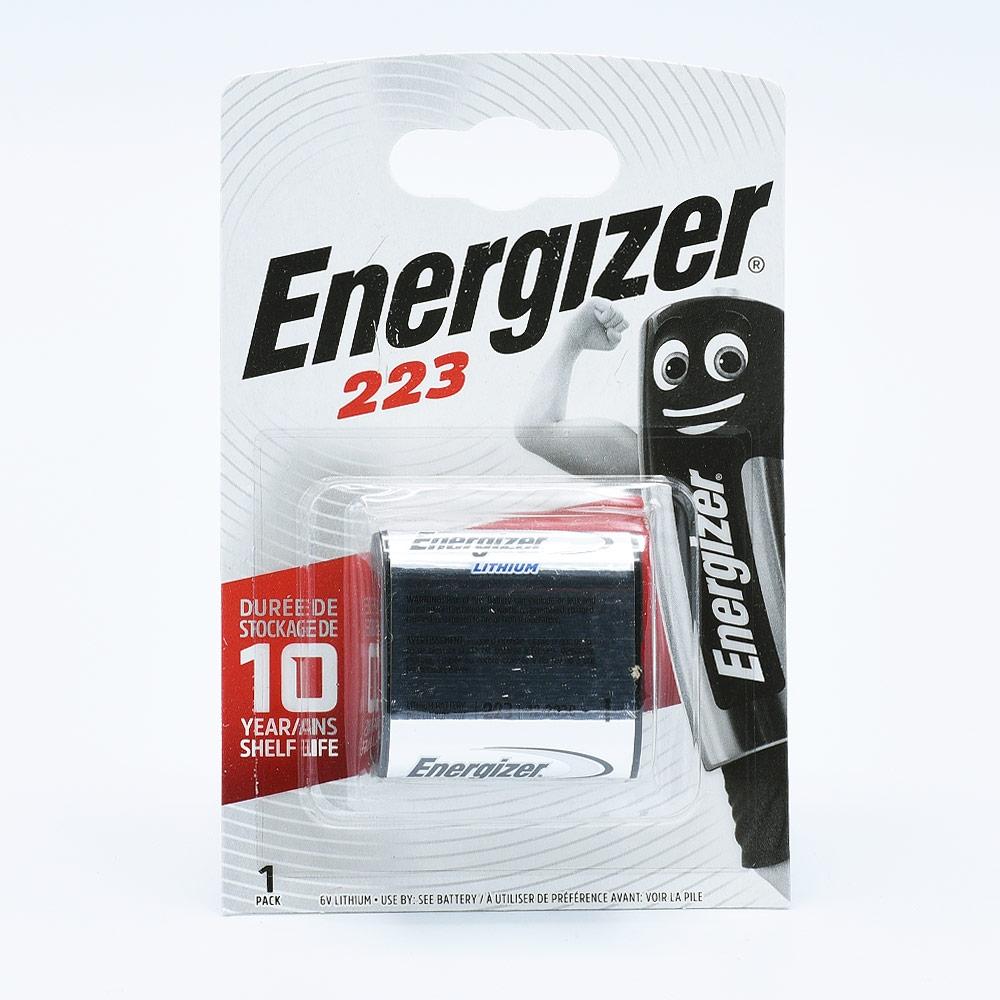 Energizer 223 Lithium Batterij (6V)