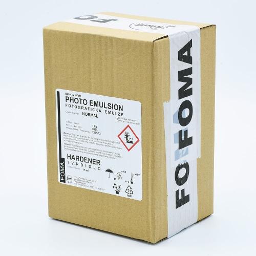 Foma Normal Contrast Liquid Photo Emulsion - 1kg + Hardener - 15ml